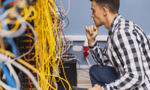 Løsningen på teknik til ens virksomhed
